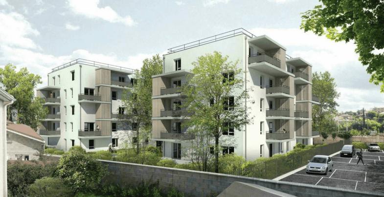 Construction d'une résidence de 43 logements  ICF  - Chasse Sur Rhône (38)