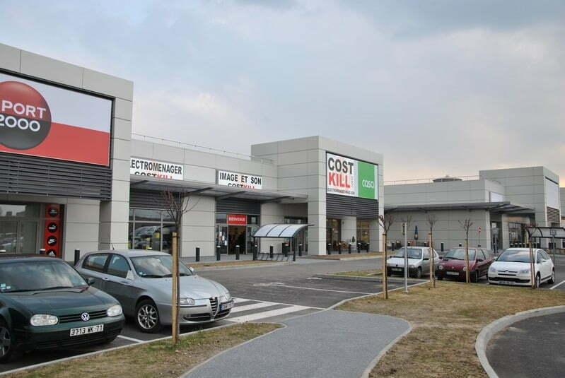 Centre commercial - Chalon porte Sud (71)
