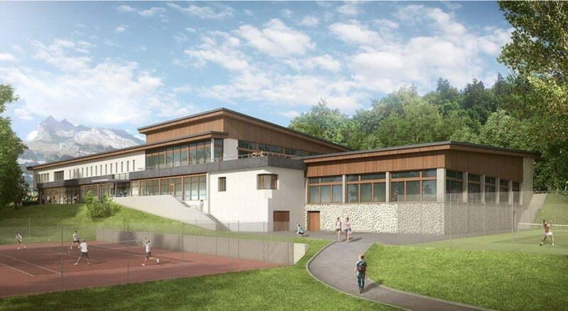 Centre sportif Le Fayet - Saint Gervais Les Bains (74)