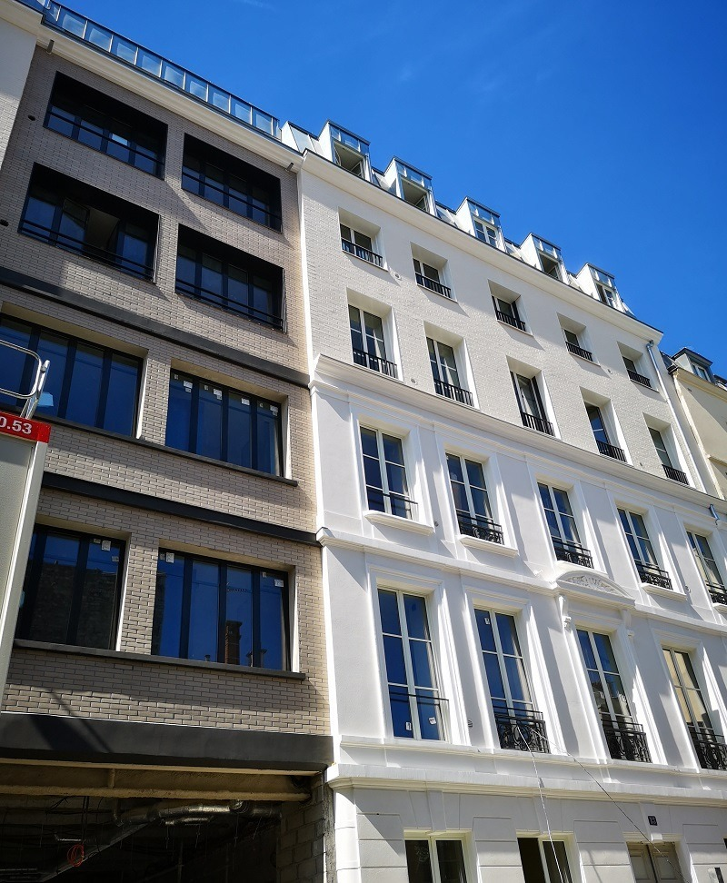 Hôtel rue de Nancy - Paris (75)