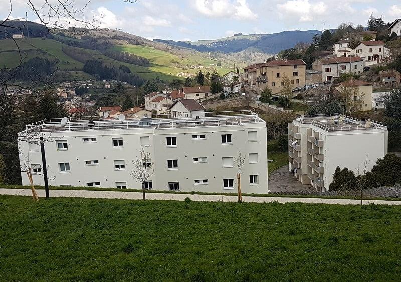 Livraison logements 3F - Tarare (69)