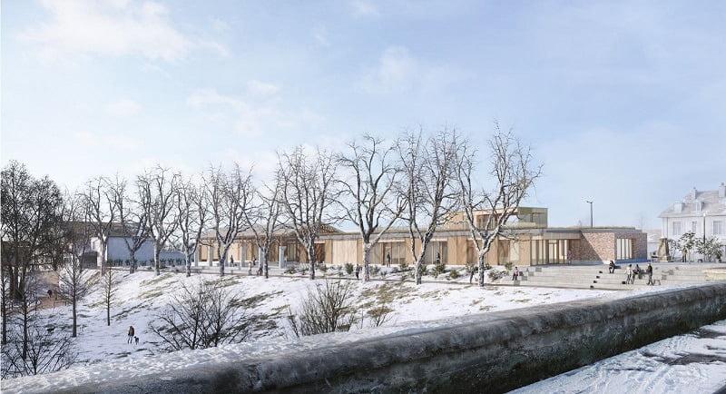 Lancement des travaux de la Maison de la Rivière - Moulins (03)